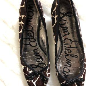 bfec2f4b45 Sam Edelman Shoes - Sam Edelman | HOPE Cow Hair Leather Kitten Heels